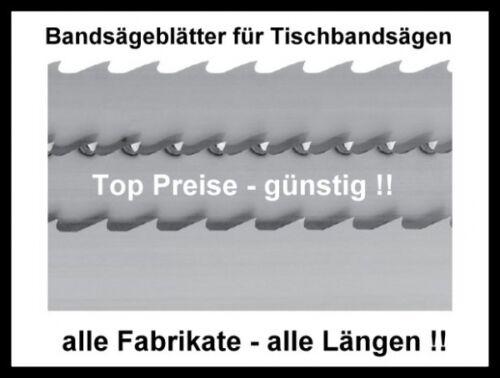 Sägeband 1490x6x0,65mm Bandsägeblatt Holz Bandsägen Basato 1 Scheppach