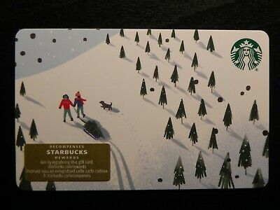 2019 Canada Holiday Christmas Snowman Starbucks Card NEW Diamond Marker 6173