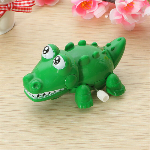Animal Plastic Colorful Children Crocodile Clockwork Toys Wind Up Party Toy r
