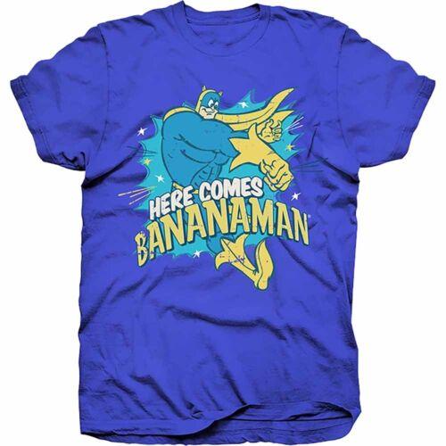 Bananaman RockOff Trade Homme XL Homme Bananaman Here Comes Bananaman T-shirt