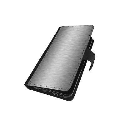 Brushed Handyhülle Handy Tasche Book Case Schutz Hülle Flip Wallet Etui Cover