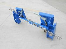 Ford/New Holland Pin-On Loader Skid Steer Q/A Adapter:620TL,7109,7209,7210,7309