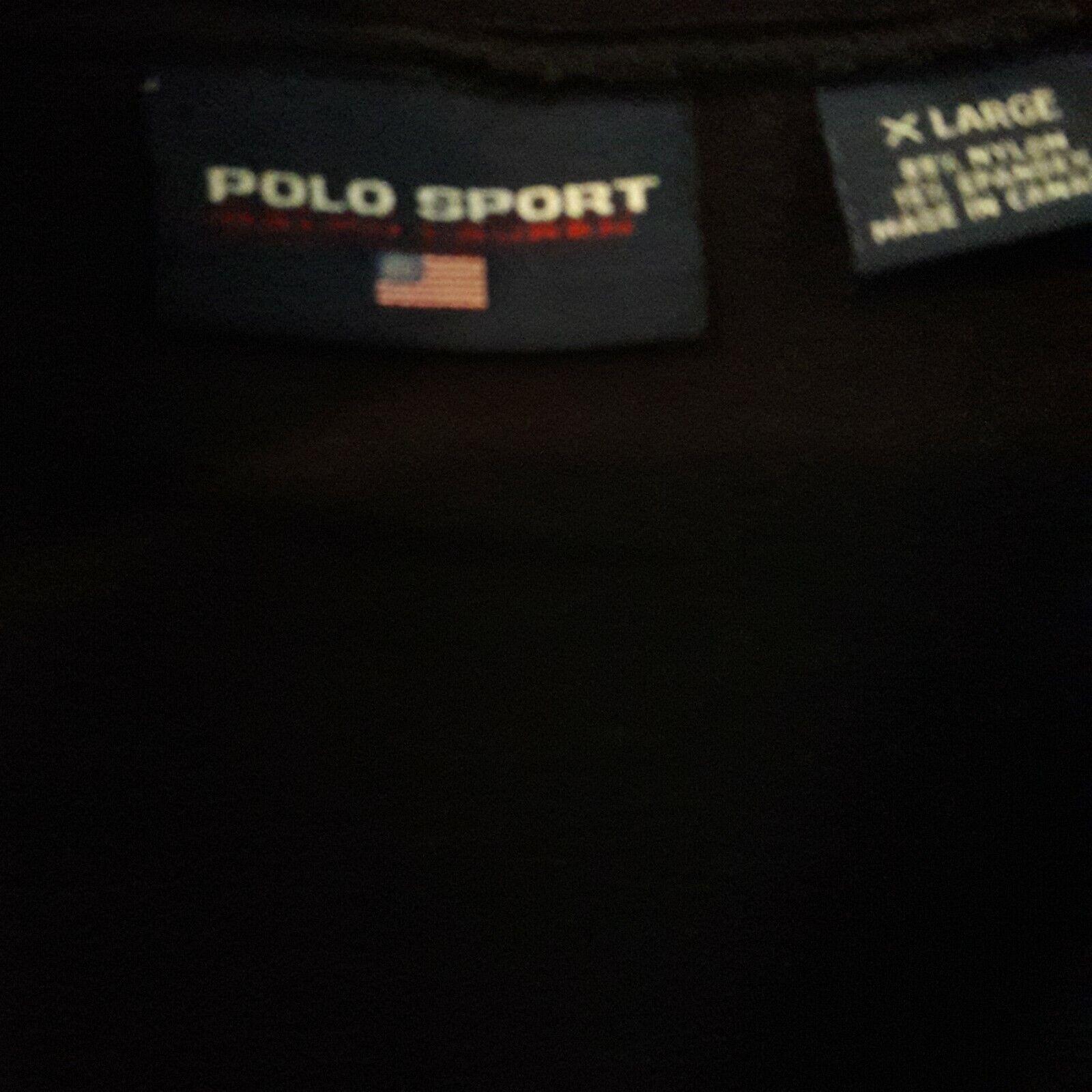 Polo Sport RLX Snow Beach 1992 rare Shirt - image 3