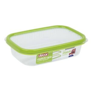 Decor Match Ups Basics Container Oblong Green 800ml 1 ea