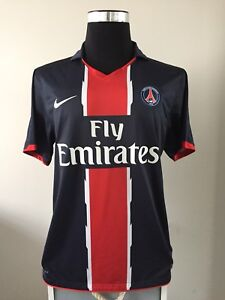 6edcf0d9cf4 Image is loading Paris-Saint-Germain-PSG-Home-Football-Shirt-2010-