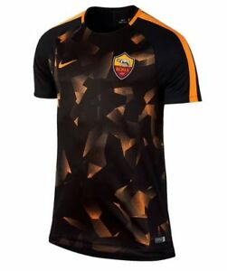 2014 2015 AS Roma Nike Pre Match Training Jersey (Orange)