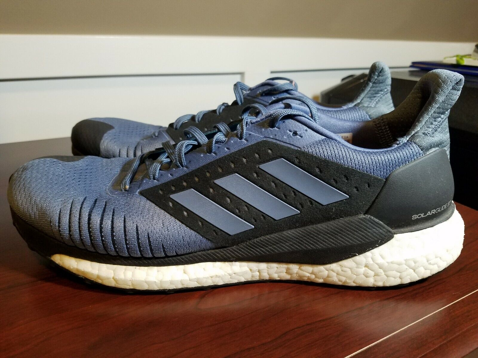 Adidas 12 Size BOOST CM8048 Steel bluee shoes Running