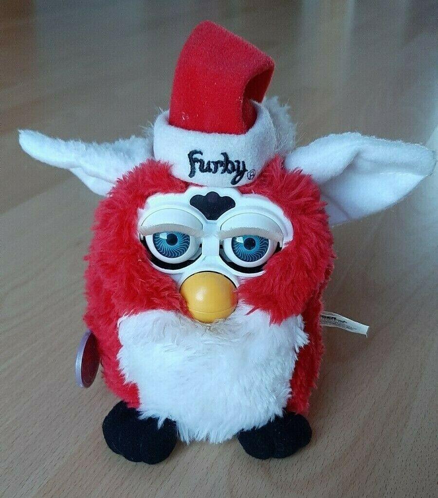 Seltener Furby 1.Generation aus 1999 super Zustand Sonderotition Weihnachtsmann