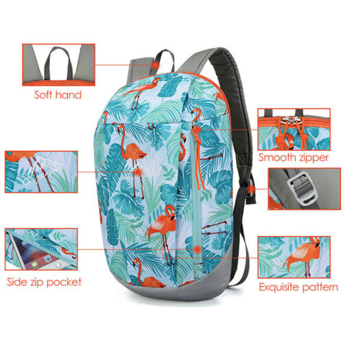 10L SMALL HIKING CAMPING OUTDOOR BACKPACK SCHOOL Rucksack TRAVEL BAG Lightweight