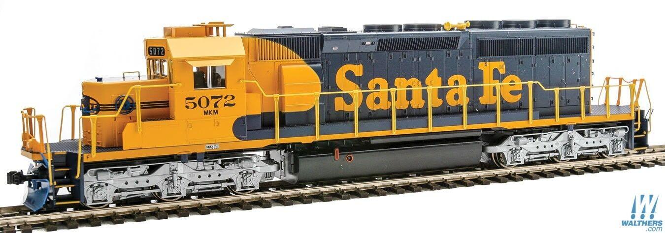 HO skala - KATO 37 -6616 AT &SF - SANTA FE SD40 -2 Loco DCC rödo Compatible