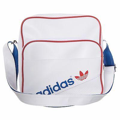 Adidas Originals Unisex AC Sir Shoulder Airliner Laptop Bag White ( 9794) 1487abc7d7d1f
