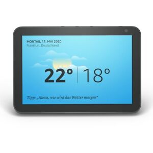 "Amazon Echo Show 8 | 8"" HD Smart Display mit Alexa - Schwarz"