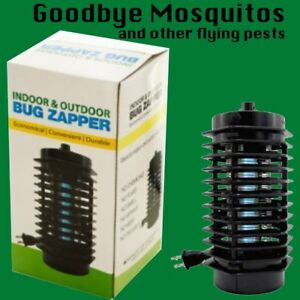 Image Is Loading Indoor Outdoor Electric Bug Zapper Insect Flying Pest