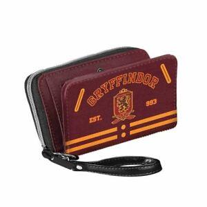 Harry Potter and Hogwarts House Zipper PouchBag