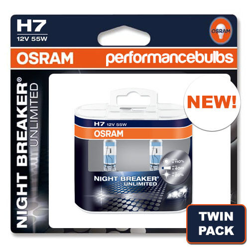 H7 osram night breaker unlimited OPEL ASTRA J 06 /& GT faisceau ampoules phare haute