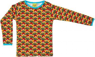 * Nuovo * Duns Svezia Top-senape Con Ravanello L/s T-shirt-taglia 9-10y/140cm-mostra Il Titolo Originale Una Custodia Di Plastica è Compartimentata Per Lo Stoccaggio Sicuro