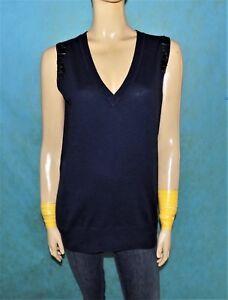 Caricamento dell immagine in corso maglione-col-V-senza-maniche-SANDRO -misura-1- 316f0dc4120