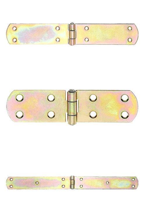 Französisches Kistenband Kistenbänder Scharnier Türbänder verzinkt 300 mm