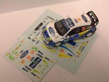 "DECAL CALCA 1/43 FORD FOCUS WRC ""MOVISTAR"" D. SOLA - RALLY ALEMANIA 2005"