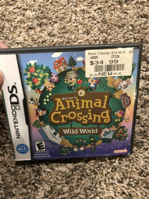 Animal Crossing Wild World Nintendo Ds Game   eBay