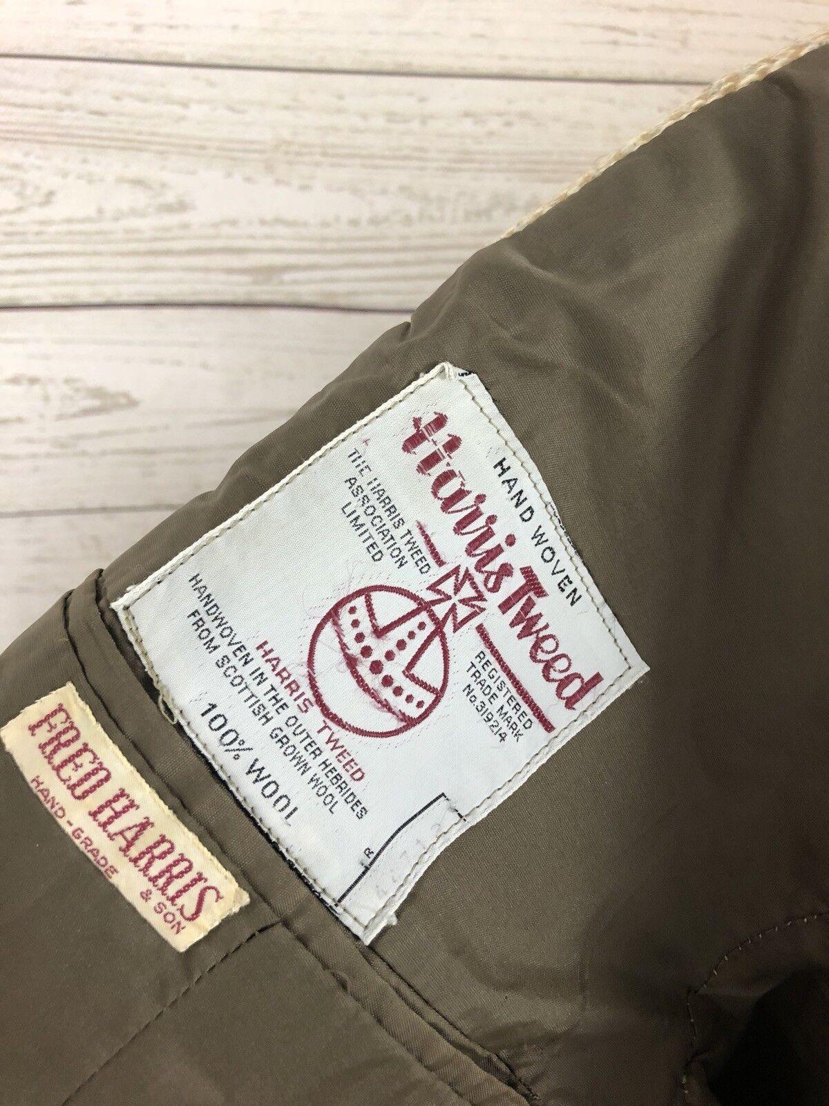 Harris Tweed Chaqueta Blazer - 40R-Crema-Lana-Excelente 40R-Crema-Lana-Excelente 40R-Crema-Lana-Excelente Estado-Para Hombre 5db34c