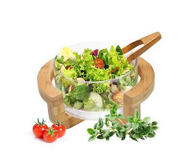 Set 3 Schalen Salatschüssel mit Salatlöffel Schüssel Servierschüssel