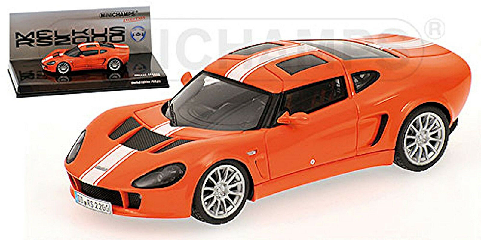 Melkus RS 2000 Coupé 2009-13 Orange 1 43 Minichamps