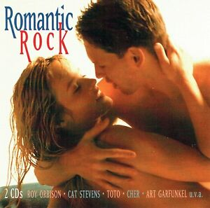 2cd-039-s-Romantic-Rock-The-Righteous-Brothers-Cat-Stevens-the-walker-brothers
