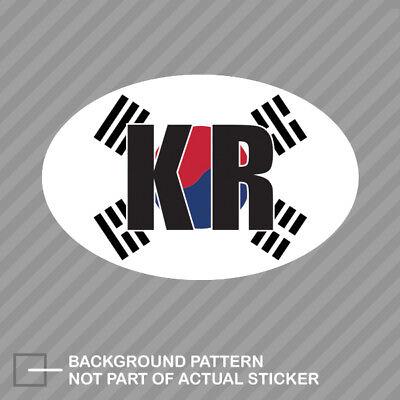 South Korea country flag shield sticker vinyl decal