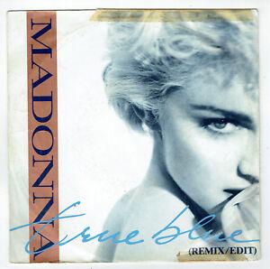 MADONNA-Vinyle-45-tours-7-034-TRUE-BLUE-HOLIDAY-SIRE-928550-7-EX-RARE