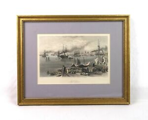 Antique-19th-Century-View-of-New-Orleans-Vintage-Lithograph-Print-Appleton-1873