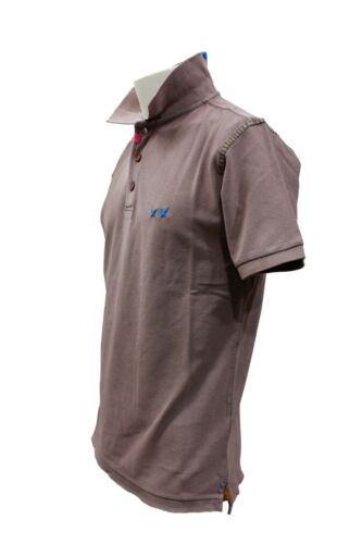fit Manica Slim Corta Cotone Uomo Vintage Casual Polo Project Da Moda Maglia Zxq7Iw8gW
