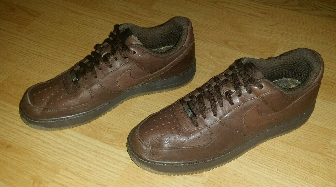 Nike Air Force 1 Premium '07 Light Chocolate Size 13 Shoes  (315180-221) (M-139)