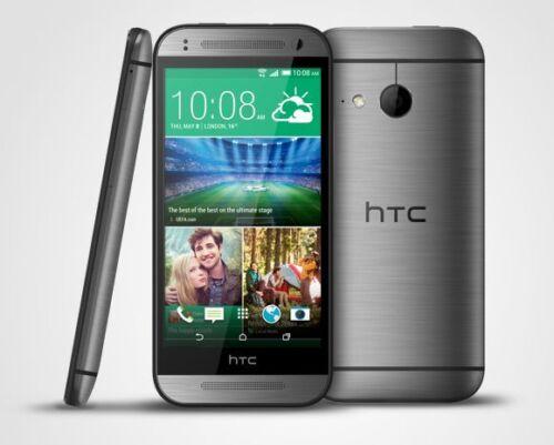 1 von 1 - HTC ONE MINI 2 Grey - Quad Core 16Gb 4G  BoomSound Klangverbesserung 13Mp - NEU