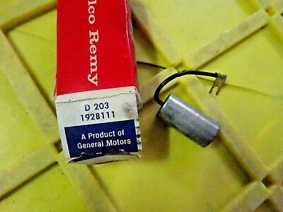 D203 AC Delco Ignition Capacitor New for Chevy Olds Le Sabre De Ville Series 60
