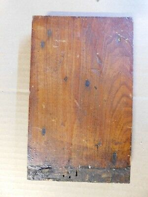 1800/'s Wood ROSETTE TRIM Plinth Block Door Molding VICTORIAN Butternut ORNATE