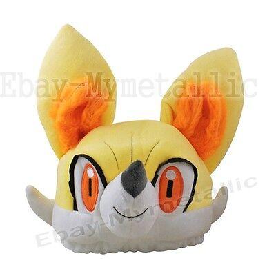 Pokemon XY Fennekin #653 Soft Plush Cap Hat Toy Cosplay