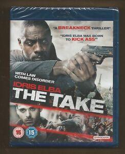 THE-TAKE-sealed-new-UK-BLU-RAY-Idris-Elba