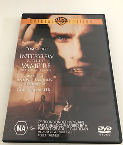 Interview-With-The-Vampire-Horror-R4-Very-Good-Condition-Free-Shipping