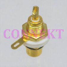 10pcs Connector F Tv Jack Pin Bulkhead Solder Deck Mount Rf Coaxial