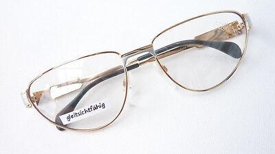 Occhiali Di Marca Versione Telaio Da Donna Occhiali Silhouette 6135 Oro Argento Misura L-mostra Il Titolo Originale Alta Qualità E Poco Costoso
