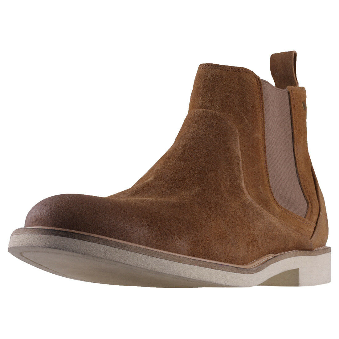 Sneaky Steve Shinner Mens Whiskey Suede Chelsea Boots - 46 EU