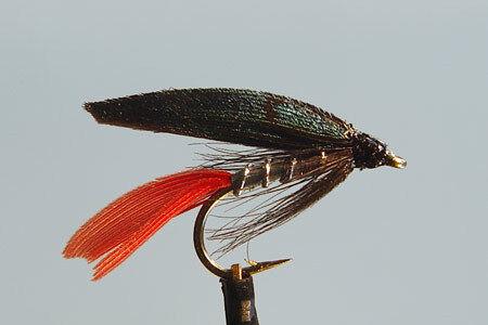 10x fishing fly noyee silver butcher h12 you