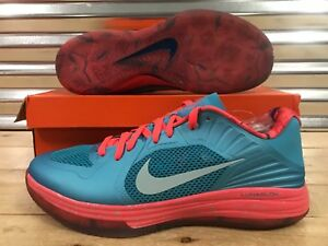 official photos 905f8 be7bc Image is loading Nike-Lunar-Hypergamer-Low-Rose-Classic-Limited-Shoes-