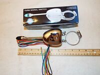 Hot Rat Rod, Steering Column Mounted Turn Signal Switch Lighted Lever 6v & 12v