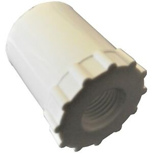 """(12) 1/2"""" PVC ADAPTORS FOR AUTOMATIC WATERER DRINKER CUP /NIPPLE CHICKEN POULTRY"""