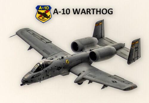 "A-10 Warthog Aircraft 3.25/""x2.25/"" Collectibles Handmade Fridge Magnet PMW12008"