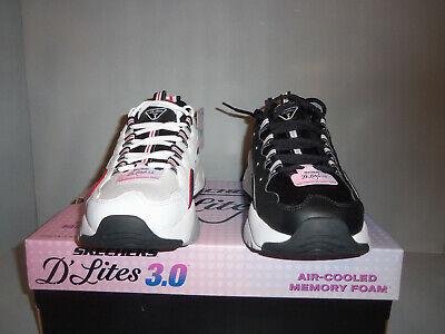Womens Skechers D'Lites 3.0 Wavy Zenway