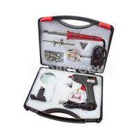 Soldering Iron Tool Kit Craft Glue Gun Helping Hand Tool Set Magnify Kit In Case