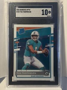 Tua Tagovailoa 2020 Panini Optic Rated Rookie #152 SGC 10 GEM MINT PSA
